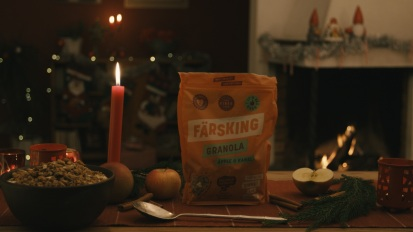 Färsking Granola – God Jul